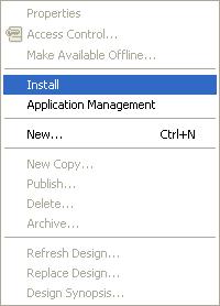 Instalace aplikací