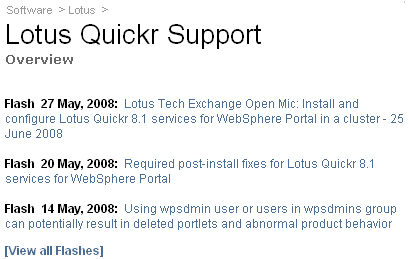 Overview Lotus Quickr