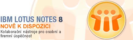 Lotus Notes 8 v češtině