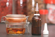 příprava ženšenové alkoholové tinktury